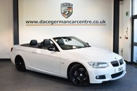 USED 2013 62 BMW 3 SERIES 3.0 330D SPORT PLUS EDITION 2DR 242 BHP + FULL BLACK LEATHER INTERIOR  + FULL SERVICE HISTORY + SATELLITE NAVIGATION + BLUETOOTH + SPORT SEATS WITH MEMORY + XENON LIGHTS + CRUISE CONTROL + VOICE CONTROL + PARKING SENSORS + 19 INCH ALLOY WHEELS +