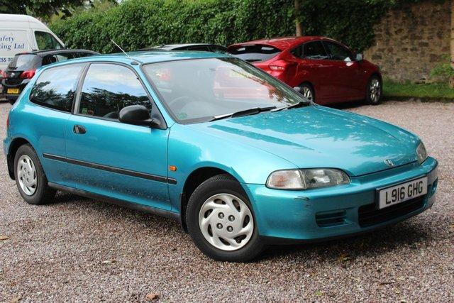 1994 L HONDA CIVIC 1.5 LSI 3d AUTO 89 BHP