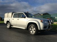 2009 MAZDA BT-50 2.5 4X4 DOUBLE CAB TS2 1d 141 BHP ** no vat ** one owner recent canbelt williams canopy  £6995.00