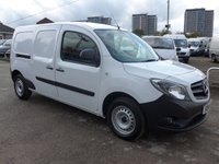 USED 2014 14 MERCEDES-BENZ CITAN 109 CDI XLWB, 90 BHP, ELECTRIC PACK, CRUISE CONTROL, FULL SERVICE HISTORY