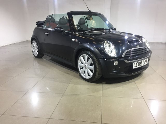 View our 2008 08 MINI CONVERTIBLE 1.6 COOPER S 2d 168 BHP
