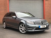 USED 2012 12 MERCEDES-BENZ C CLASS 2.1 C220 CDI BLUEEFFICIENCY SPORT 5d 168 BHP SAT NAV+PRIVACY GLASS++CLEAN EXAMPLE
