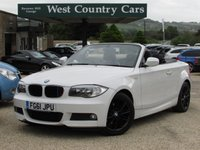USED 2011 61 BMW 1 SERIES 2.0 118D M SPORT 2d 141 BHP Brilliant Colour Combination & Low Running Costs