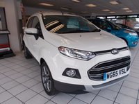 USED 2015 65 FORD ECOSPORT 1.0 TITANIUM 5d 124 BHP FORD ECOBOOST 1.0 TURBO
