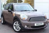 USED 2011 11 MINI COUNTRYMAN 1.6 COOPER D ALL4 5d 112 BHP