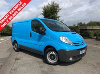 USED 2012 12 NISSAN PRIMASTAR 2.0 SE SWB DCI HR 1d 115 BHP Smart Low Mileage Example, One Owner, Finance Arranged.