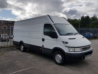 USED 2005 55 IVECO-FORD DAILY 35S14 xLwb [ NON RUNNER SOLD AS SPARES OR REPAIR ] MASSIVE SAVING