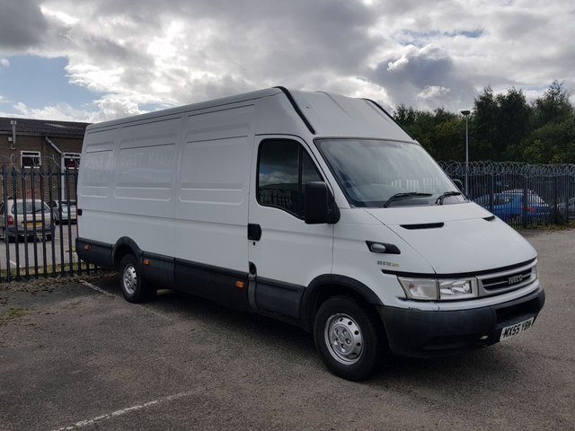 2005 55 IVECO-FORD DAILY 35S14 xLwb [ NON RUNNER SPARES OR REPAIR ] Free UIK Delivery
