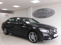 USED 2014 14 MERCEDES-BENZ E CLASS 2.1 E220 CDI AMG SPORT 4d AUTO 168 BHP Superb Example Full Mercedes History (8 Services)
