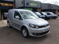 USED 2014 14 VOLKSWAGEN CADDY 1.6 C20 TDI HIGHLINE 1d 101 BHP SAT NAV, A/C, COMMS KIT, E/W, 6 MONTH WARRANTY & FINANCE ARRANGED. FSH, A/C, Radio/CD, Alloys, Parking sensors, Bluetooth, Sat Nav, parking sensors, Drivers airbag, Factory fitted bulk head, twin Side loading door, Very Good Condition, 1 Owner, remote Central Locking, Drivers Airbag, CD Player/FM Radio, Steering Column Radio Control, Side Loading Door, Barn Rear Doors,