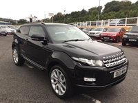 USED 2013 04 LAND ROVER RANGE ROVER EVOQUE 2.2 SD4 PRESTIGE 3d 190 BHP 360 Degree SurroundView Cameras, Meridian Hi-Fi, 20 inch, power tailgate, DualView +++
