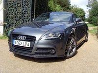 2012 AUDI TT 2.0 TDI QUATTRO BLACK EDITION 2d 168 BHP £13999.00