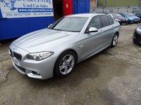 2014 BMW 5 SERIES 2.0 520D M SPORT 4d AUTO 181 BHP £15995.00