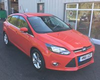 USED 2012 61 FORD FOCUS 1.6 ZETEC THIS VEHICLE IS AT SITE 1 - TO VIEW CALL US ON 01903 892224