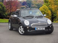 USED 2004 54 MINI CONVERTIBLE 1.6 ONE 2dr 89 BHP ELECTRIC POWERED HOOD