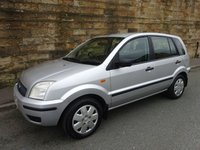 2004 FORD FUSION 1.4 FUSION 2 5d 78 BHP £1000.00