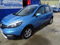 2013 RENAULT SCENIC 1.5 XMOD DYNAMIQUE TOMTOM ENERGY DCI S/S 5d 110 BHP £5995.00