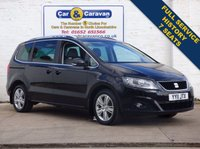 USED 2011 11 SEAT ALHAMBRA 2.0 CR TDI ECOMOTIVE SE 5d 140 BHP Full Service History 7 Seats 0% Deposit Finance Available