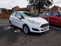 USED 2014 14 FORD FIESTA 1.6 ZETEC 5d AUTO 104 BHP ARKING SENSORS ,FRONT HEATED SCREEN ,AND ALLOY WHEELS!!..EXCELLENT FUEL ECONOMY!!..LOW CO2 EMISSIONS(138G/KM)..LOW ROAD TAX...FULL FORD HISTORY...ONLY 7914 MILES FROM NEW!!