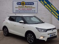USED 2016 16 SSANGYONG TIVOLI 1.6 ELX 5d 113 BHP 4x4  SAT-NAV Full Service History 0% Deposit Finance Available