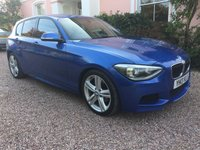 USED 2013 13 BMW 1 SERIES 2.0 120D M SPORT 5d 181 BHP