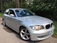 2008 BMW 1 SERIES 2.0 118D SE 3d 141 BHP £2495.00
