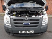 USED 2010 60 FORD TRANSIT 2.4 370 SHR BUS 15 STR 1d 100 BHP