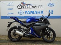 USED 2014 14 YAMAHA YZF-R125 BLUE/BLACK **LOW MILES**