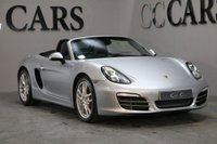 USED 2012 12 PORSCHE BOXSTER 2.7 24V PDK 2d AUTO 265 BHP GT SILVER REMOTE ROOF
