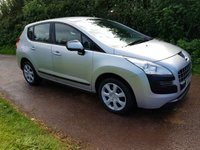 USED 2012 12 PEUGEOT 3008 1.6 ACCESS HDI FAP 5d 112 BHP **LOW MILEAGE**EXCELLENT CONDITION**SUPERB DRIVE**