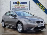 USED 2015 15 SEAT LEON 1.6 TDI SE TECHNOLOGY 5d 105 BHP Free Tax Full Service History 0% Deposit Finance Available