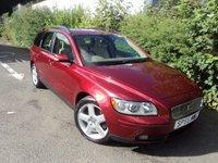 2005 VOLVO V50 2.0 D SE 5d 135 BHP £3688.00