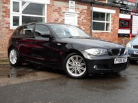 USED 2008 08 BMW 1 SERIES 2.0 118D M SPORT 5d 141 BHP