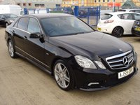 USED 2009 59 MERCEDES-BENZ E CLASS 3.0 E350 CDI BLUEEFFICIENCY SPORT 4d AUTO 231 BHP