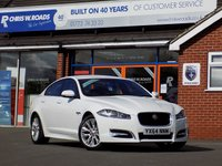 USED 2014 64 JAGUAR XF 3.0 D V6 R-SPORT 4dr AUTO 240 BHP *ONLY 9.9% APR with FREE Servicing*