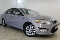 USED 2010 60 FORD MONDEO 2.0 ZETEC TDCI 5DR AUTOMATIC 138 BHP CLIMATE CONTROL + AUXILIARY PORT + MULTI FUNCTION WHEEL + RADIO/CD + CRUISE CONTROL