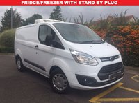 USED 2016 16 FORD TRANSIT CUSTOM 290 TREND FRIDGE/FREEZER VAN WITH STAND BY PLUG Fridge/Freezer Van With Overnight Stand By Plug