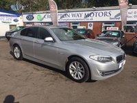 2012 BMW 5 SERIES 3.0 530D SE 4d AUTO 255 BHP £14495.00