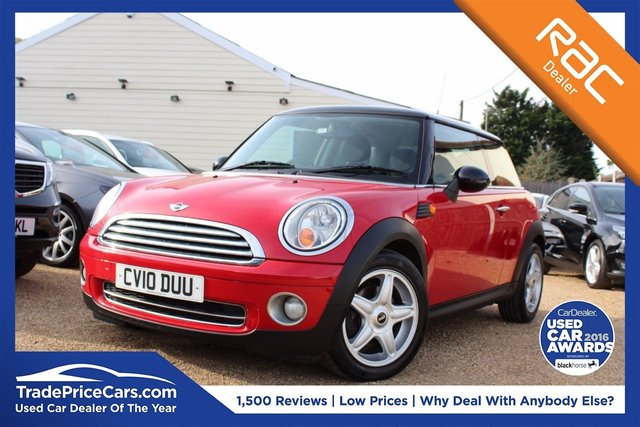 View our 2010 10 MINI HATCH COOPER 1.6 COOPER 3d 118 BHP
