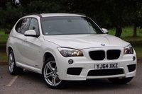 2014 BMW X1 2.0 XDRIVE20D M SPORT 5d AUTO 181 BHP £17680.00