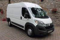 2015 CITROEN RELAY 2.2 40 HEAVY L2H2 HDI 1d 129 BHP £9450.00