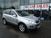 USED 2012 61 VAUXHALL ANTARA 2.2 SE CDTI 5d 161 BHP £0 DEPOSIT, LOW RATE FINANCE ANYONE, DRIVE AWAY TODAY!!