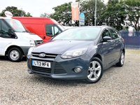 2013 FORD FOCUS 1.6 ZETEC ECONETIC TDCI 5d  £4800.00