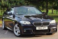 USED 2012 12 BMW 5 SERIES 3.0 530D M SPORT 4d AUTO 255 BHP