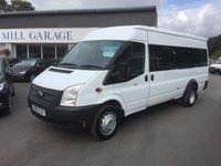 2013 FORD TRANSIT 2.2 430 SHR BUS 17 STR 1d 135 BHP £12750.00