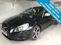 USED 2011 61 VOLVO S60 2.0 D3 R-DESIGN 4d 161 BHP Full service history, R-Design upholstery,   R-Design steering wheel,   Heated front seats,   18-inch alloy wheels