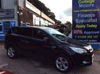 USED 2014 14 FORD KUGA 2.0 ZETEC TDCI 5d AUTO 138 BHP, 4x4,  only 59000 miles *****FINANCE AVAILABLE APPLY ONLINE******