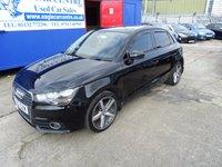 2012 AUDI A1 1.6 SPORTBACK TDI SPORT 5d 103 BHP £7695.00