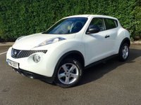 USED 2011 61 NISSAN JUKE 1.6 VISIA 5d 117 BHP NATIONWIDE WARRANTY INCLUDED AND FULL 12 MONTH MOT INCLUDED