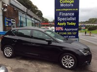USED 2013 63 SEAT LEON 1.6 TDI SE TECHNOLOGY DSG 5d AUTO 105 BHP, only 25000 miles *****FINANCE AVAILABLE APPLY ONLINE******